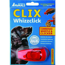 Clix Whizzclick (Combined Whistle and Clicker) + Free training guide included
