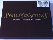 "Paul McCartney CD-DVD ""CHAOS & CREATION"" - UK Special Edition - SEALED!"