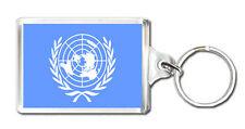 UNITED NATIONS FLAG KEYRING LLAVERO