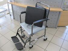 Toilettenrollstuhl INVACARE H720T Toilettenstuhl fahrbar mit Rollen Rollstuhl