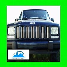 85-01 JEEP CHEROKEE CHROME TRIM FOR GRILL GRILLE 95 96 97 98 99 00 5YR WRNTY