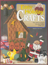 Easy Holiday Crafts book Laura Scott House of White Birches patterns 1998 HC