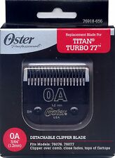Genuine OSTER Diamox Blade Size 0A For 76 Turbo 77 Titan 76918-656 ANTIMICROBIAL