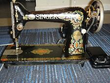 RARE! Vintage Singer Sewing Machine, Made in the USA, CAT. BZ 10-8 antique