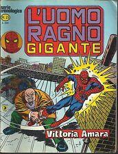 L'UOMO RAGNO GIGANTE n° 23 Ed. CORNO