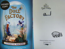 Signed Book The Doll Factory by Elizabeth MacNeal 1st Edn Hardback Numbered
