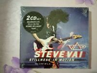 STEVE VAI - STILLNESS IN MOTION-VAI LIVE IN L.A. 2 CD NEW SEALED