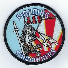 VF-111 Sundowners Tomcat (US Navy Squadron Patch) (from unit, 1994)