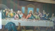 """vintage print  """"Last Supper"""" 18x32 inches"""