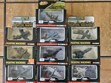 Corgi Fighting Machines Fighter Planes Bombers Jets 1:400 Scale Diecast War Lot