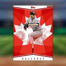Topps MLB Bunt DIGITAL Canada Day Roy Halladay Insert