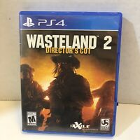 Wasteland 2: Director's Cut PlayStation 4 PS4 Complete CIB PSN RPG Rare OOP