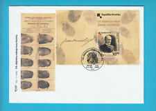JUAN (IVAN) VUCETICH - Argentina police dactyloscopy dactylography Croatian FDC