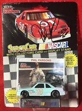Racing Champions NASCAR Phil Parsons #29 AUTOGRAPHED Card '92 Oldsmobile Cutlass