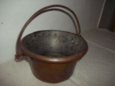 alter Kessel-Kochkessel-Kupferkessel-Kupfer OSM für offene Feuerstelle