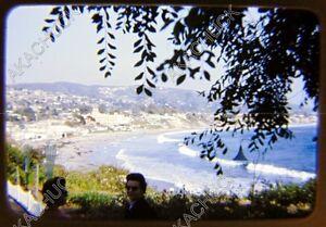 14 Kodachrome Red Border Slides LAGUNA BEACH & LIDO ISLAND 1953 - 1955
