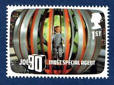 "Gerry Anderson TV Programmes ""Joe 90"". Illustrated on a 2011 Stamp 14"