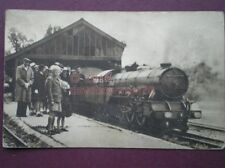 POSTCARD R H & DR LOCO 'SOUTHERN MAID AT HYTHE