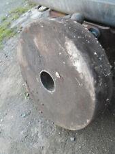 "Large Grindstone Wheel (old but probably unused) diameter 18 1/2"""