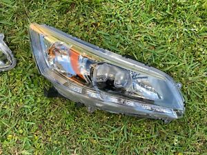 2013-2015 Honda Accord Hybrid Touring HEADLIGHT LED HALOGEN COMPLETE RIGHT