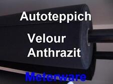 Meterware Autoteppich Velour Teppich Anthrazit 9,90€/m² Sonderpreis VW T3 T4 T5