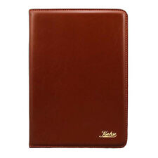iPad Folio Case 2/3/4 Luxury Black/Brown/Red Smart Ultra Thin Leather Cover