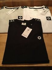 Jack & Jones slim fit Kenny t shirt with chest logo and shoulder ribbon S & XL
