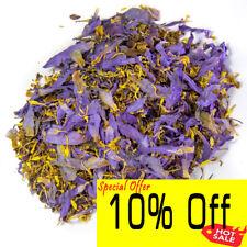 Dried Blue Lotus Flower| Nymphaea Caerulea| Quality Deep Purple Thai, Herbal Tea