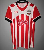 SOUTHAMPTON 2016 2017 HOME FOOTBALL SHIRT JERSEY UNDER ARMOUR SIZE S