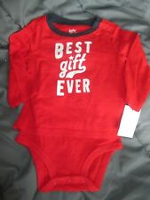 *NWT*OSHKOSH BGOSH Boys Red & White One-Piece*Size 12...