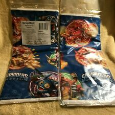 "TWO!  Skylanders Plastic Table Cover DesignWare 54"" x 96"" Party"