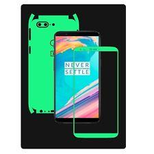 Glow in the Dark Skin Protector,Full Body Vinyl Decal Case Wrap, OnePlus 5T