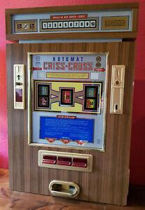 Spielautomat - Rotomat - Criss-Cross - 60er/70er Jahren - läuft