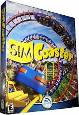 Sim Coaster for PC Large Retail Box New! Mint in Sealed Box MISB!!