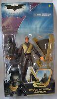 NEW Batman DARK Knight Bruce to NINJA BATMAN 4+ Collect DC Mattel Figure Vintage