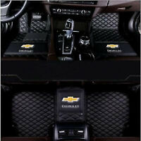 For Chevrolet Equinox Malibu Cruze Trax Captiva Aveo Camaro Spark Car Floor Mats