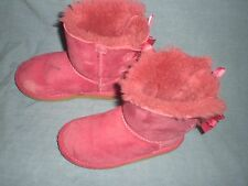 UGG® Youth Bailey Bow Cerise Classic Boot 3280 size 12