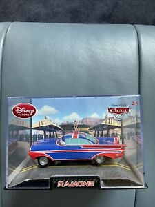 Disney Store Cars 2 Ramone British Flag Diecast 1:43 Scale Collector's Case NEW