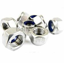 "10 x PROP LOCKNUTS STAINLESS for 1/4""  FLEXISHAFT rc model boat nitro"