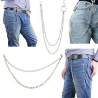 Street Ring Key Chain Rock Punk Trousers Biker Link Pant Jean Hip Hop Chain