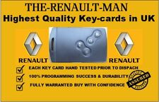 Renault Megane/Scenic lll 4 button key card key-less and go 2009-2016 pcf7952
