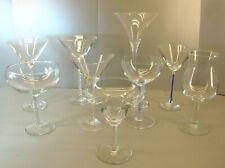 Cocktail-Gläser auf Stiel im Konvolut - für die exquisite Barausstattung-AE 1089