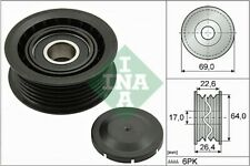 INA Belt Pulley 532 0160 10 fits JEEP GRAND CHEROKEE WK2,WK 3.6 V6 4x4 3.6 VVT