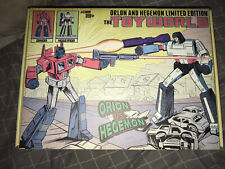 Transformers: Limited Ed Toyworld - Orion and Hegemon TW01c Optimus And Megatron