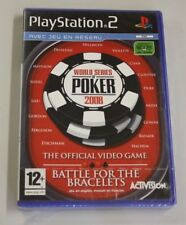 JEU SONY PS 2 World Series of Poker - 2008 Edition  neuf   vf