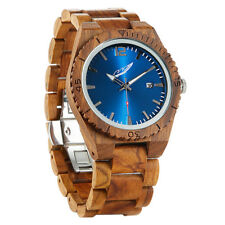 Wilds Memory Ambila Wood Watch | Lightweight Handmade Wood Wrist Watch