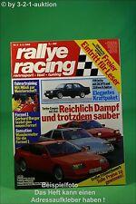 Rallye Racing 5/88 Alpine Turbo Nissan 300 Toyota Supra