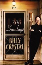 NEW - 700 Sundays by Billy Crystal (1st Edition, 2005, Hardcover)