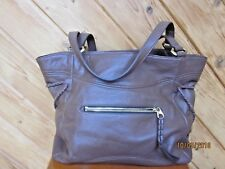 orYANY BROWN LEATHER SHOULDER BAG USED ONCE THIS PURSE HAS Soooo MUCH ROOM! 6558c2fb0e02a