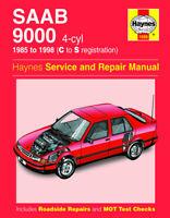 Saab 9000 2.0 2.3 1985 - 1998 C to S Reg. Haynes Manual 1686 NEW